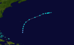 1915 Atlantic tropical storm 5 track.png