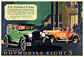 1927 Magazine ad for Hupmobile Eight (3377576222).jpg
