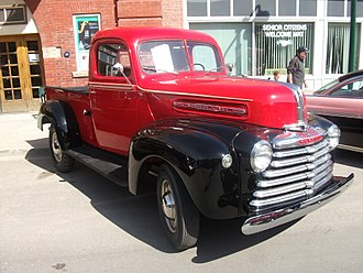 Mercury (automobile) - 1947 Canadian Mercury M-Series truck