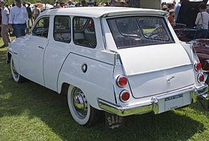 Saab 95 - Image: 1963 SAAB 95 rear
