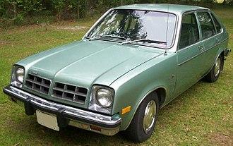 Chevrolet Chevette - 1978 Chevrolet Chevette 4dr hatchback
