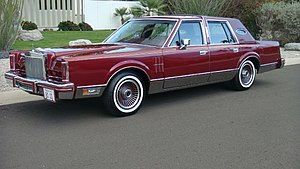 Lincoln Mark series - 1980 Lincoln Continental Mark VI sedan Signature Series