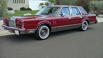 Lincoln Continental Mark VI - 1980 Continental Mark VI Signature Series 4-door