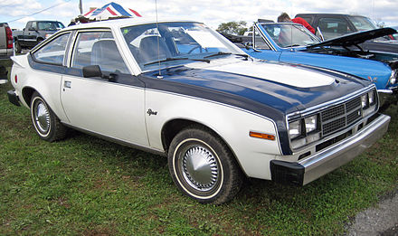 1981 AMC Spirit base model with optional two-tone - AMC Spirit