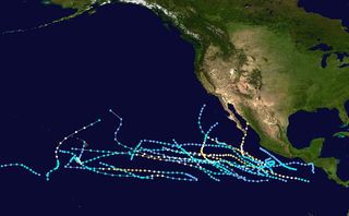 1982 Pacific hurricane season hurricane season in the Pacific Ocean
