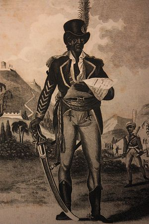 Toussaint Louverture - 19th century engraving of L'Ouverture