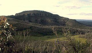 Mount Hay (New South Wales) mountain in the Blue Mountains National Park, New South Wales, Australia