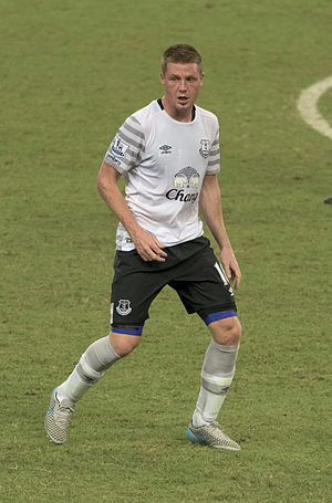 James McCarthy (footballer) - McCarthy playing for Everton in 2015