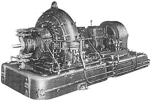 Alexanderson alternator - Alexanderson 200-kW motor-alternator set installed at the US Navy's New Brunswick, NJ station, 1920.