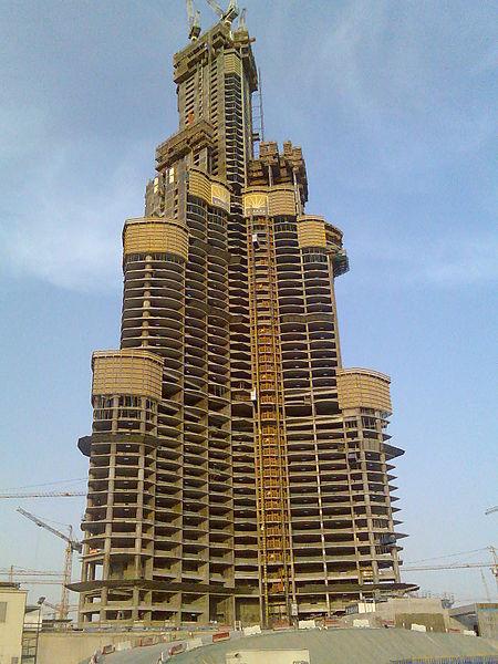 Ficheiro:20060829 Burj Dubai.jpg
