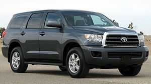 Toyota Sequoia - 2008 MY Toyota Sequoia (US)