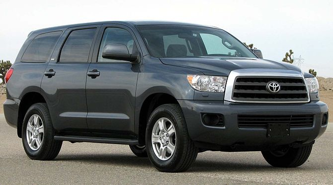 2008 Toyota Sequoia photographed in USA. Categ...