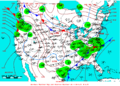 2009-01-06 Surface Weather Map NOAA.png