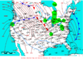 2009-01-31 Surface Weather Map NOAA.png