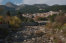 Xanthi from Kosynthos river.