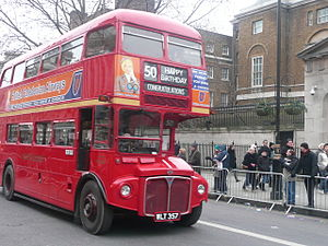 London's New Year's Day Parade - London Routemaster RM357 – New Year's Day Parade 2009