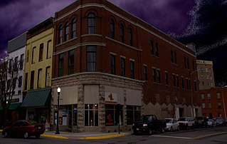 Bristol Commercial Historic District United States historic place