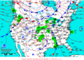2012-03-22 Surface Weather Map NOAA.png