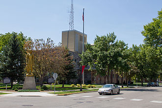 Willmar, Minnesota - Kandiyohi County Courthouse in Willmar