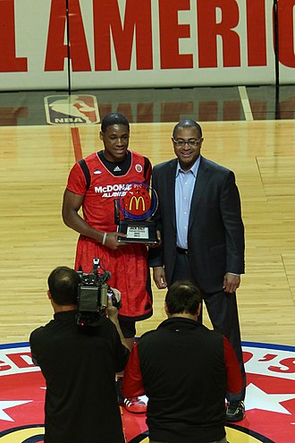 2013 McDonald's All-American Boys Game - At halftime Demetrius Jackson was recognized with the Jack Daly Sportsmanship Award