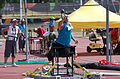 2013 IPC Athletics World Championships - 26072013 - Jamil Elshebli of Jordan during the Men's Shot put - F56-57 5.jpg
