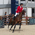 2013 Longines Global Champions - Lausanne - 14-09-2013 - Rachel Sandoz et Caribaldi 2.jpg