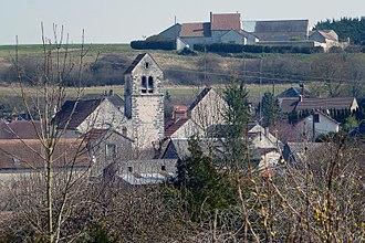 Abbéville-la-Rivière - A general view of the village