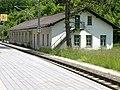 2014.06.04 - Frankenfels - Aufnahmsgebäude und Lokschuppen Laubenbachmühle - 03.jpg