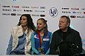 2014 ISU Junior Grand Prix Final Serafima Sakhanovich Eteri Tutberidze Sergei Dudakov IMG 1609.JPG