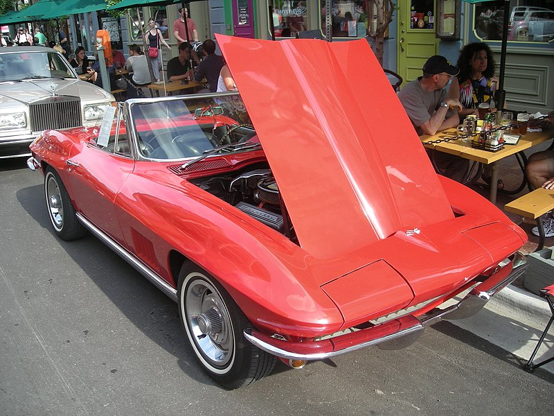 File:2014 Rolling Sculpture Car Show 24 (1967 Chevrolet Corvette).jpg