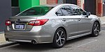 2015 Subaru Liberty (MY15) 3.6R sedan (2017-07-15) 02.jpg