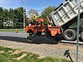 2016-04-25 13 03 25 Re-paving and widening of the south shoulder of Franklin Farm Road near Tranquility Lane in the Franklin Farm section of Oak Hill, Fairfax County, Virginia.jpg
