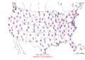 2016-04-26 Max-min Temperature Map NOAA.png