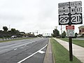 2016-09-29 16 27 59 View south along U.S. Route 29 Business and west along U.S. Route 211 (Lee Highway) between Blackwell Park Lane and Fletcher Drive in Warrenton, Fauquier County, Virginia.jpg