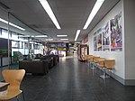 2017-12-15 Waiting area and Taxi office, Norwich Airport.JPG