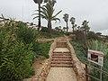 2018-03-14 Footpath and steps on clifftop above Praia Santa Eulália, Albufeira (1).JPG