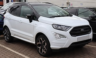 Ford Germany - Image: 2018 Ford Eco Sport ST Line 1.0 (1)