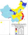 2019年中國各省人均GDP分布.png