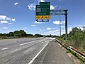 2019-06-14 14 01 36 View north along the Outer Loop of the Baltimore Beltway (Interstate 695) at Exit 38 (EAST Maryland State Route 150-Eastern Boulevard, Essex) in Dundalk, Baltimore County, Maryland.jpg