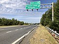 2019-09-23 10 02 58 View west along Maryland State Route 32 (Patuxent Freeway) at Exit 14 (Broken Land Parkway) in Columbia, Howard County, Maryland.jpg