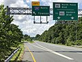 2020-08-04 15 59 57 View north along Maryland State Route 151 (North Point Boulevard) at the exit for Interstate 695 NORTH (Towson) in Dundalk, Baltimore County, Maryland.jpg