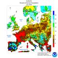 2020 July CPC Europe percent of normal precipitation.png