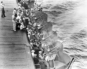 20mm gunnery drill on USS Enterprise (CV-6) 1942.jpeg