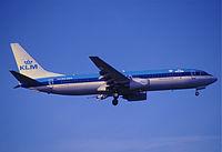 PH-BXH - B738 - KLM
