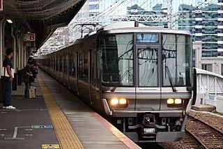 223 series Japanese train type