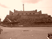A fort at my hometown. I deliberately applied Sepia tone to give it an antique look