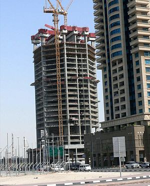 23 Marina - Image: 23 Marina Under Construction on 13 June 2008