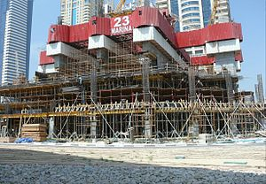 23 Marina - Image: 23 Marina Under Construction on 21 September 2007