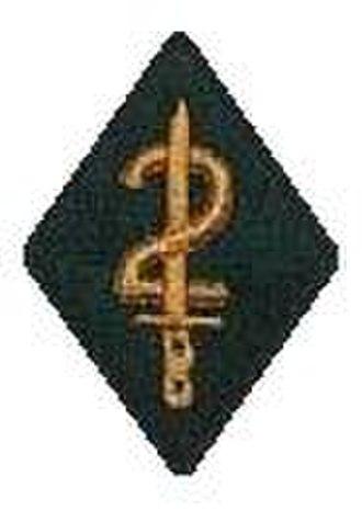 Canterbury, and Nelson-Marlborough and West Coast Regiment - Image: 2Cant Unit Flash