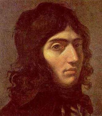 Camille Desmoulins - Portrait by Joseph Boze